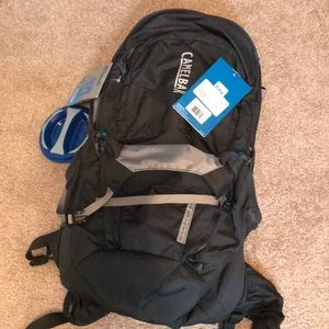 Camelbak backpack.